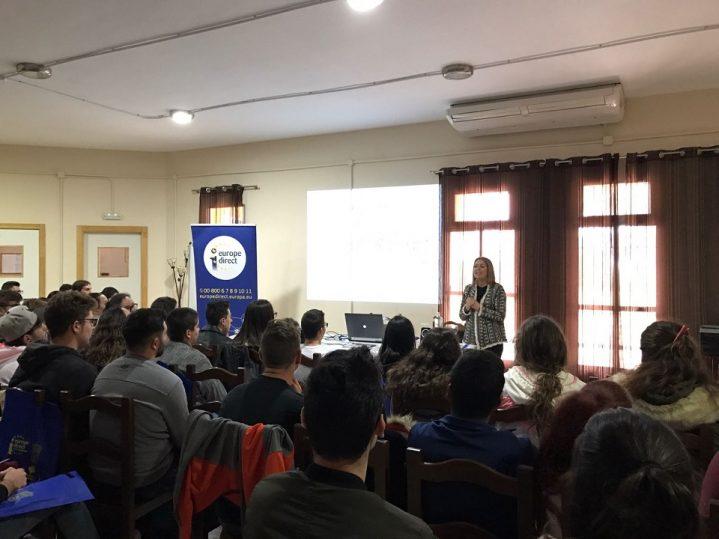 Mancomunidad organiza una sesi n informativa sobre europa en la escuela de hosteleria de san - Escuela de hosteleria casa de campo ...